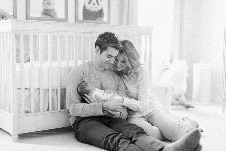 Calgary Newborn Photography family portrait