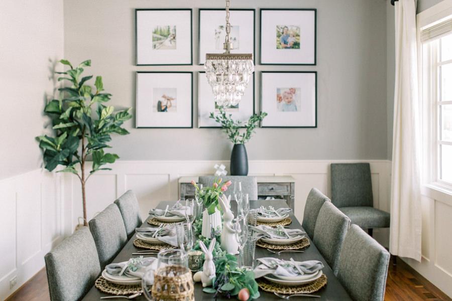 Calgary Branding Photography interior design dinging room